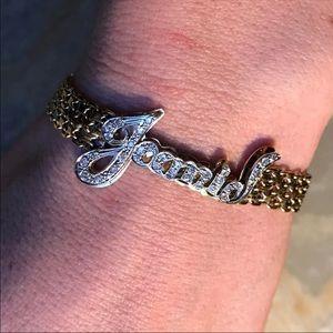 14K Gold Diamond Joanie Bracelet